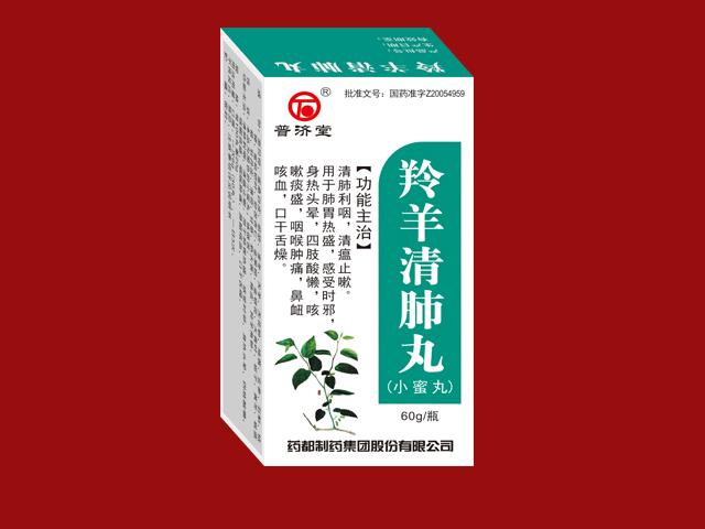 羚羊清肺丸(小蜜丸)
